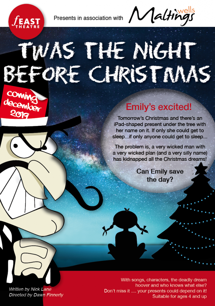 Twas the Night Before Christmas poster